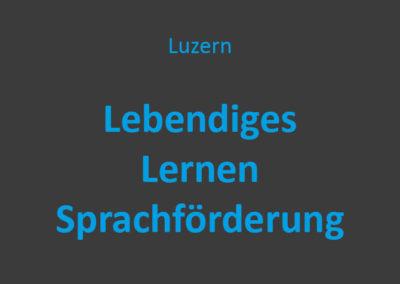 Lebendiges Lernen Sprachförderung